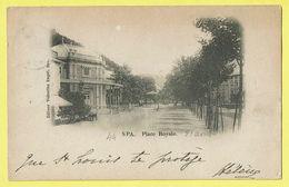 * Spa (Liège - La Wallonie) * (Editeur Valentine Engel) Place Royale, Kiosque, Kiosk, Animée, Rare, 1899 - Spa