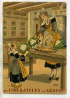 JEAN PARIS 002 Nos PLats Régionaux - Les Choux Fleurs Au Gratin -Bretonnes - BARRE DAYEZ 1946 -1419 U - Illustratoren & Fotografen