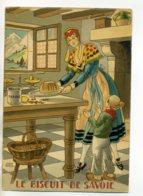 JEAN PARIS 006 -Nos PLats Régionaux - Le Biscuit De Savoie  - BARRE DAYEZ 1946 -1420  A - Illustratoren & Fotografen