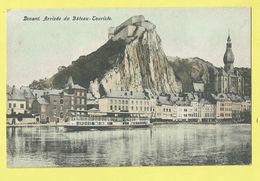 * Dinant (Namur - Namen - La Wallonie) * (Grands Magasins De La Station) Arrivée Du Bateau Touriste, Citadelle, Quai TOP - Dinant