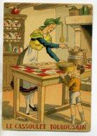 JEAN PARIS 012 -Nos PLats Régionaux -  Le Cassoulet Toulousain   - BARRE DAYEZ 1946 -1418 W - Illustratoren & Fotografen