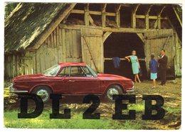 < Automobile Auto Voiture Car >> VW Karmann Ghia Typ 34, Volkswagenwerk AG Wolfsburg # 157.183.00, Carte Radio - Passenger Cars