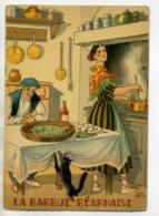 JEAN PARIS 017 -Nos PLats Régionaux -  La Barbue Béarnais - Chat Noir   - BARRE DAYEZ 1946 -1417  Q - Illustratoren & Fotografen