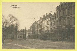 * Namur - Namen (La Wallonie) * (Grands Magasins De La Station) Rue Mathieu, Hotel Terminus, Tramway, Rare, Old - Namur