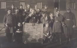 Carte Photo Réelle - Groupe De Militaires - Génie - 1924 - Autres