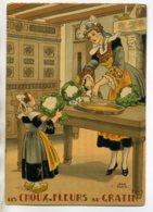 JEAN PARIS 028 -Nos PLats Régionaux -Les Choux Fleurs Au Gratin    BARRE DAYEZ 1946 -1419  U - Illustratoren & Fotografen