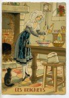 JEAN PARIS 034 -Nos PLats Régionaux - Les Beignets -chat Noir  - BARRE DAYEZ 1946 -1420  R - Illustratoren & Fotografen