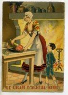 JEAN PARIS 036 -Nos PLats Régionaux - Le Gigot D'Agneau Roti  - BARRE DAYEZ 1946 -1418 K - Illustratoren & Fotografen