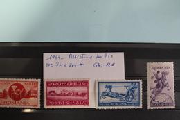 1944     -   761   à   764   **      OEUVRES  D  '  ASSISTANCE  DES  P.T.T.            COTE   :  12,00€ - 1918-1948 Ferdinand, Charles II & Michael