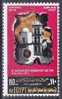 Ägypten Egypt 1972 Religion Christentum Architektur Bauwerke Buildungs Katharinenkloster Katastrophen Feuer, Mi. 1080 ** - Ägypten