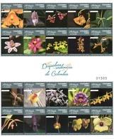 Colombia 2018 ** Orquídeas Endémicas. Fotografías De La Sociedad De Orquideología. - Colombie