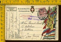 Regno WW1 Prima Guerra Franchigia Posta Militare 177 A Zona Di Guerra - 1900-44 Vittorio Emanuele III