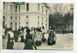 CHASSE à COUR 003 Equipage Du Francport Rendez Vous Au Chateau Dames Fourrures  36 Ducelle - Foret  Compiegne - Chasse