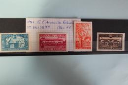 1944     -   770   à   772   **      EN  L  '  HONNEUR  DE  RADASENI           COTE   :  6,00€ - 1918-1948 Ferdinand, Charles II & Michael