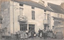"""¤¤   -    ARNAY-le-DUC   -  Carte-Photo D'un Commerce   -  Quincaillerie   -  Photographe """" E. RIMET """"  -   ¤¤ - Arnay Le Duc"""