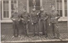 Carte Photo Réelle - Groupe De Militaires  - Mons 1927 - Army & War