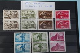 1945     -   836  à   842   **     SERIE  DES  P.T.T.   COTE   :  50,00€ - 1918-1948 Ferdinand, Charles II & Michael