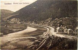 Bukowina, IACOBENI Bistrita 1920, Drumul Spre CARLIBABA, Unused - Roumanie