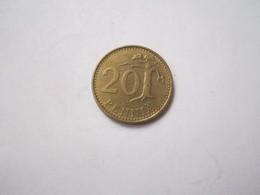 ----1 Pièce 20 Pennia 1966-- Lettre-S-Finlande-- - Finlande