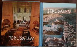JERUSALEM Cité Biblique. MIS EN PAGE PAR MEIR RONNEN. Editions VILO. 1 Volume Sous Emboitage - Art