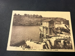 2 - EGUZON Le Barrage - Rive Droite, En Amont - France