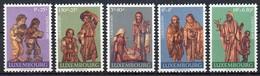 Luxemburg 1971 MiNr. 836/ 840   ** / Mnh    Caritas: Krippenfiguren, Befort - Luxembourg