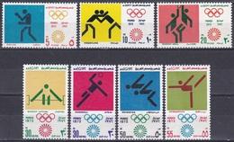 Ägypten Egypt 1972 Sport Spiele Olympia Olympics München Munich Piktogramme Boxen Basketball Turnen, Mi. 1098-4 ** - Ägypten