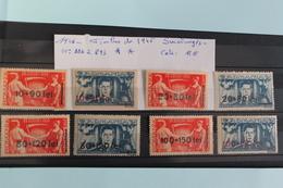 1946     -   886  à   893   **     TIMBRES  DE  1945  SURCHARGES   NOUVELLE  VALEUR       COTE   : 12,00€ - 1918-1948 Ferdinand, Charles II & Michael