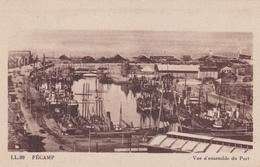 FECAMP Vue D'ensemble Du Port ( LL 99 ) - Fécamp