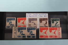 1946     -   916  à   920   *     OFFICE  DES  SPORTS  POPULAIRES     COTE   :   6,00€ - 1918-1948 Ferdinand, Charles II & Michael
