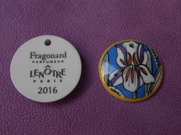 Fève LENOTRE Fragonard Parfumeur 2016 - Charms