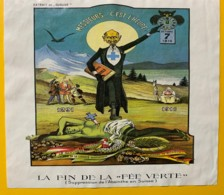 9746 - Absinthe La Fin De La Fée Verte Suisse - Etiquettes