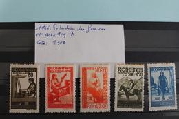 1946     -   925  à   929   *     FEDERATION  DES  FEMMES .    COTE   :   1,50€ - 1918-1948 Ferdinand, Charles II & Michael