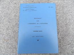 INF. 401/2 - Règlement Sur L'armement De L'infanterie - 293/09 - Livres, BD, Revues