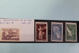 1947     -   934  à   937   *     COMMEMORATION  DE  LA  PAIX    COTE   :   2,00€ - 1918-1948 Ferdinand, Charles II & Michael