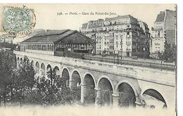 CPA 75 PARIS 1904 / Gare Du POINT-DU-JOUR - Metropolitana, Stazioni