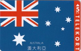 Denmark, KP 168, Australia, Flag, Mint, Only 1.500 Issued. - Denmark