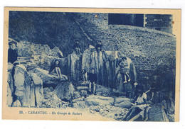 CARANTEC  UN GROUPE DE ROCHERS - Carantec