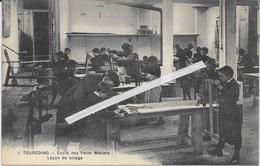 1278 TOURCOING : Ecole   Des Petits Metier   Leçon De Sciage - Tourcoing