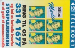 Denmark, KP 131, Stibo Media 2, Nurses, Mint Only 1000 Issued, 2 Scans. - Denmark