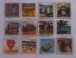 Kenya - Tourism SET; 12v Complete, USED - Kenya (1963-...)