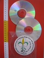 WL SCOUTS SCOUTING SCAUTISMO - N. 2 CD FOTO - ITALIA 2004 GATTINARA VERCELLI 40° ANN. AGESCI - Scoutisme
