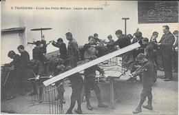 1280   TOURCOING : Ecole   Des Petits Metiers   Leçon De Serrurerie - Tourcoing