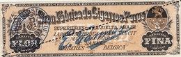 Fin 1800 étiquette Boite à Cigare WHEW - Etichette