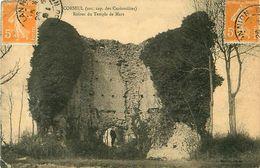 Cpa CORSEUL 22 Ruines Du Temple De Mars - Ancienne Capitale Des Curiosolites - Autres Communes