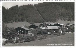 CPA Suisse Vaud  * La Tine Village Derrière * - VD Vaud