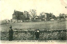 Cpa SAINT HILAIRE 36 Manoir De La Brosse - France
