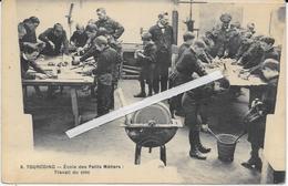 1283   TOURCOING : Ecole   Des Petits Metiers   Leçon  Travail Du Zinc - Tourcoing