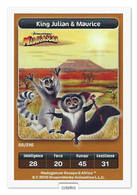 TCG - DREAMWORKS CARREFOUR - 58 - Madagascar - King Julian & Maurice - Disney