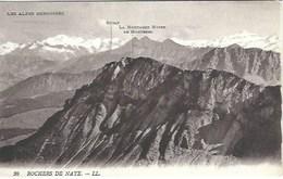CPA Suisse Vaud  * Rochers De Naye Et Alpes Bernoises * - VD Vaud